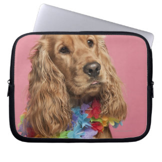 English Cocker Spaniel (10 months old) Computer Sleeves
