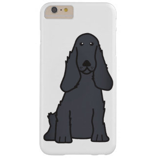 English Cocker Spaniel Dog Cartoon Barely There iPhone 6 Plus Case
