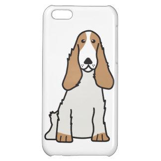 English Cocker Spaniel Dog Cartoon Case For iPhone 5C