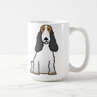 English Cocker Spaniel Dog Cartoon Coffee Mug