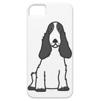 English Cocker Spaniel Dog Cartoon iPhone 5 Case