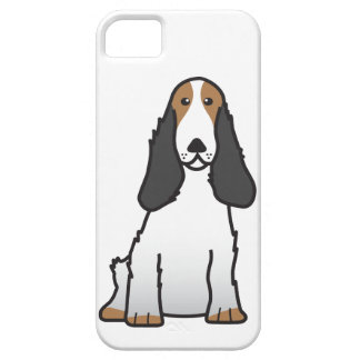 English Cocker Spaniel Dog Cartoon iPhone 5 Cases