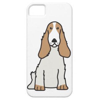 English Cocker Spaniel Dog Cartoon iPhone 5 Cover