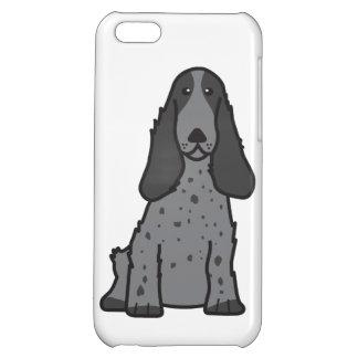English Cocker Spaniel Dog Cartoon iPhone 5C Cases