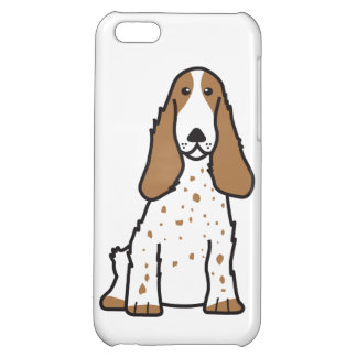 English Cocker Spaniel Dog Cartoon iPhone 5C Covers