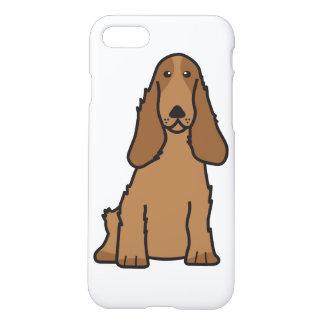 English Cocker Spaniel Dog Cartoon iPhone 7 Case