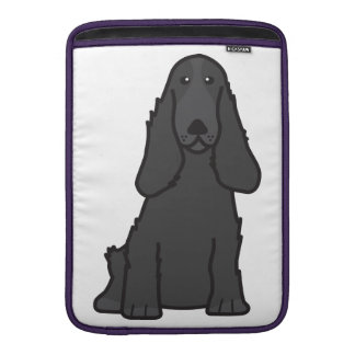 English Cocker Spaniel Dog Cartoon MacBook Air Sleeve