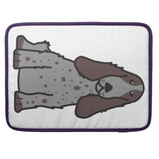 English Cocker Spaniel Dog Cartoon MacBook Pro Sleeve