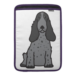 English Cocker Spaniel Dog Cartoon Sleeve For MacBook Air