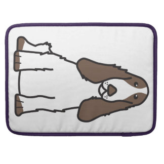 English Cocker Spaniel Dog Cartoon Sleeve For MacBook Pro
