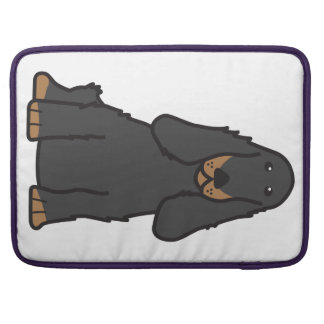 English Cocker Spaniel Dog Cartoon Sleeves For MacBook Pro