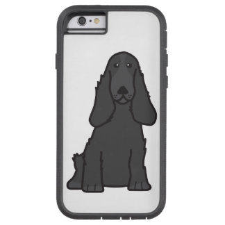 English Cocker Spaniel Dog Cartoon Tough Xtreme iPhone 6 Case