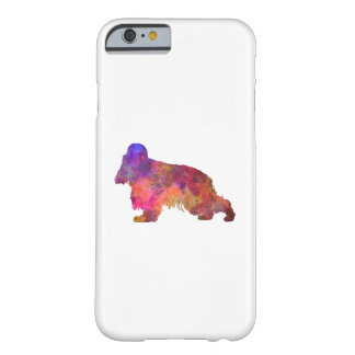 English Cocker spaniel in watercolor Barely There iPhone 6 Case