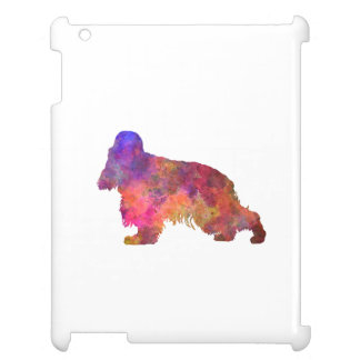 English Cocker spaniel in watercolor Case For The iPad