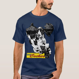 English Cocker Spaniel Jumping T-Shirt