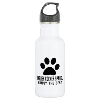 English Cocker Spaniel Simply the best 532 Ml Water Bottle