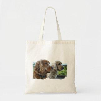 English Cocker Spaniel Small Canvas Bag