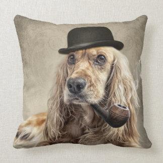 english cocker spaniel throw pillow