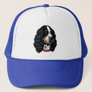 english cocker spaniel trucker hat