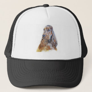 English Cocker Spaniel Trucker Hat