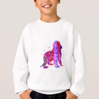 English Cocker Spaniel, watercolor Cocker Spaniel, Sweatshirt