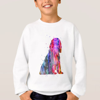 English Cocker Spaniel, watercolor Cocker Spaniel Sweatshirt