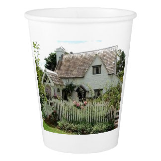 English Cottage Paper Cup