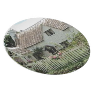 English Cottage Plate