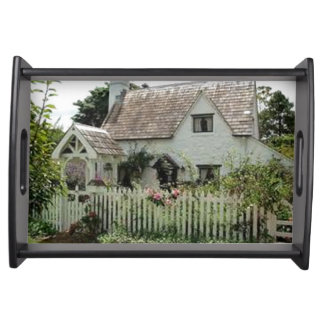 English Cottage Serving Tray