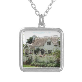 English Cottage Silver Plated Necklace