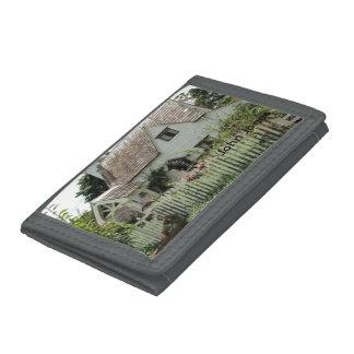 English Cottage Tri-fold Wallets