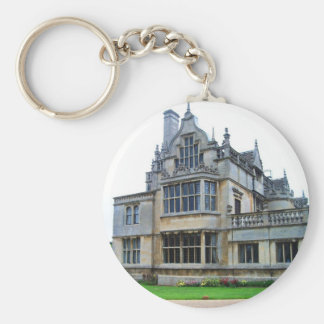English countryside pictures Rushton Hall (3) Key Ring