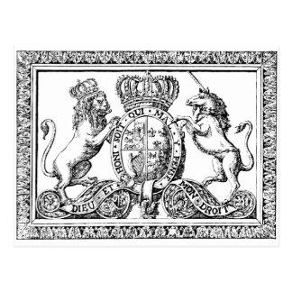 English Crest Postcard