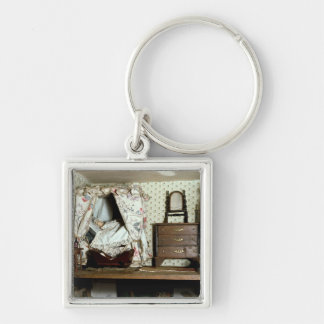 English Doll's House Keychain