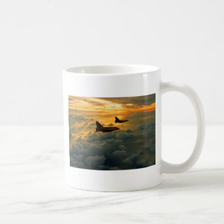 English Electric Lightning sunset flight Coffee Mug