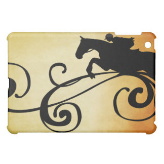 English Equestrian Flourish iPad Mini Case