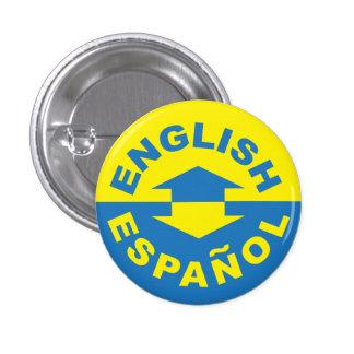 English Español - I Speak Spanish Pin