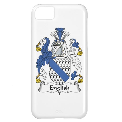 English Family Crest iPhone 5C Cover