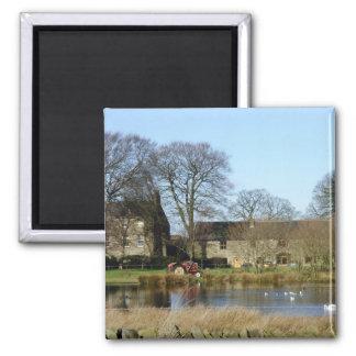 English farmyard magnet