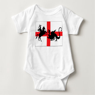English flag baby baby bodysuit
