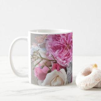 English floral mug