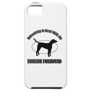 english foxhound DOG DESIGNS Cover For iPhone 5/5S