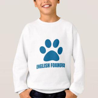 ENGLISH FOXHOUND DOG DESIGNS SWEATSHIRT