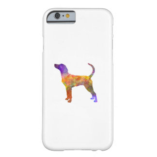 English Foxhound in watercolor Barely There iPhone 6 Case