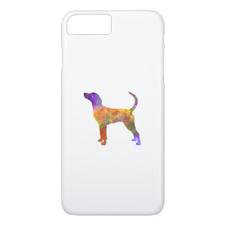English Foxhound in watercolor iPhone 8 Plus/7 Plus Case