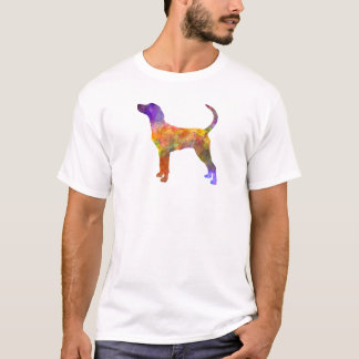 English Foxhound in watercolor T-Shirt