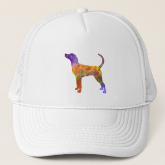 English Foxhound in watercolor Trucker Hat