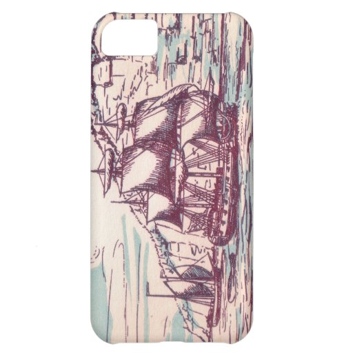 English Frigate 1743 iPhone 5C Cases