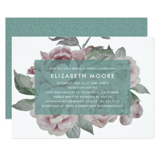 English Garden Bridal Shower Invitation | Jade