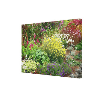 English Garden Stretched Canvas Prints